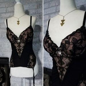 New Victoria secret lace push up corset